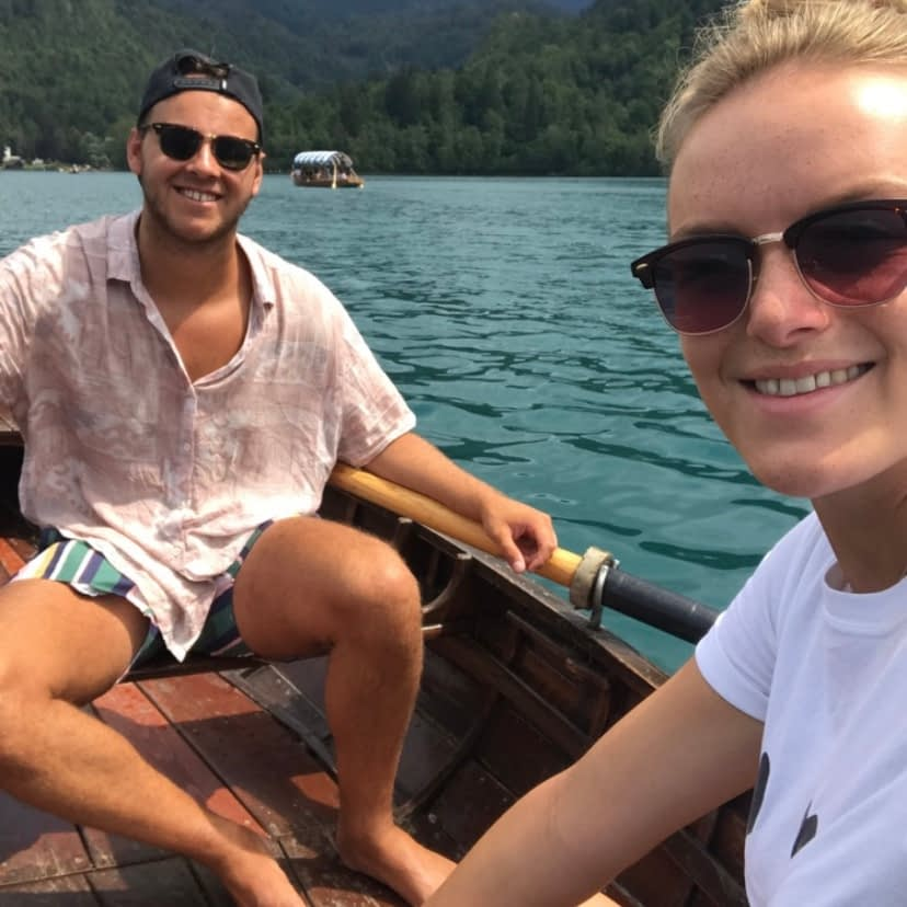 The teachers who travel in a rowing boat. Hoping to provide inspiration.