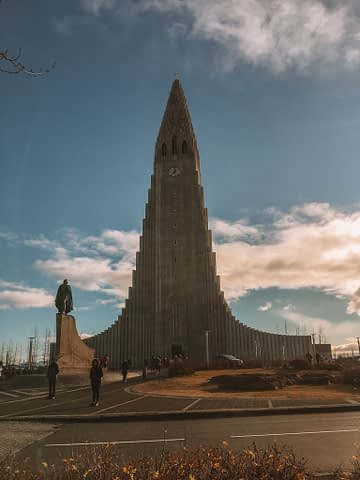 Hallgrimskirkja church in Reykjavik. What to see in Iceland