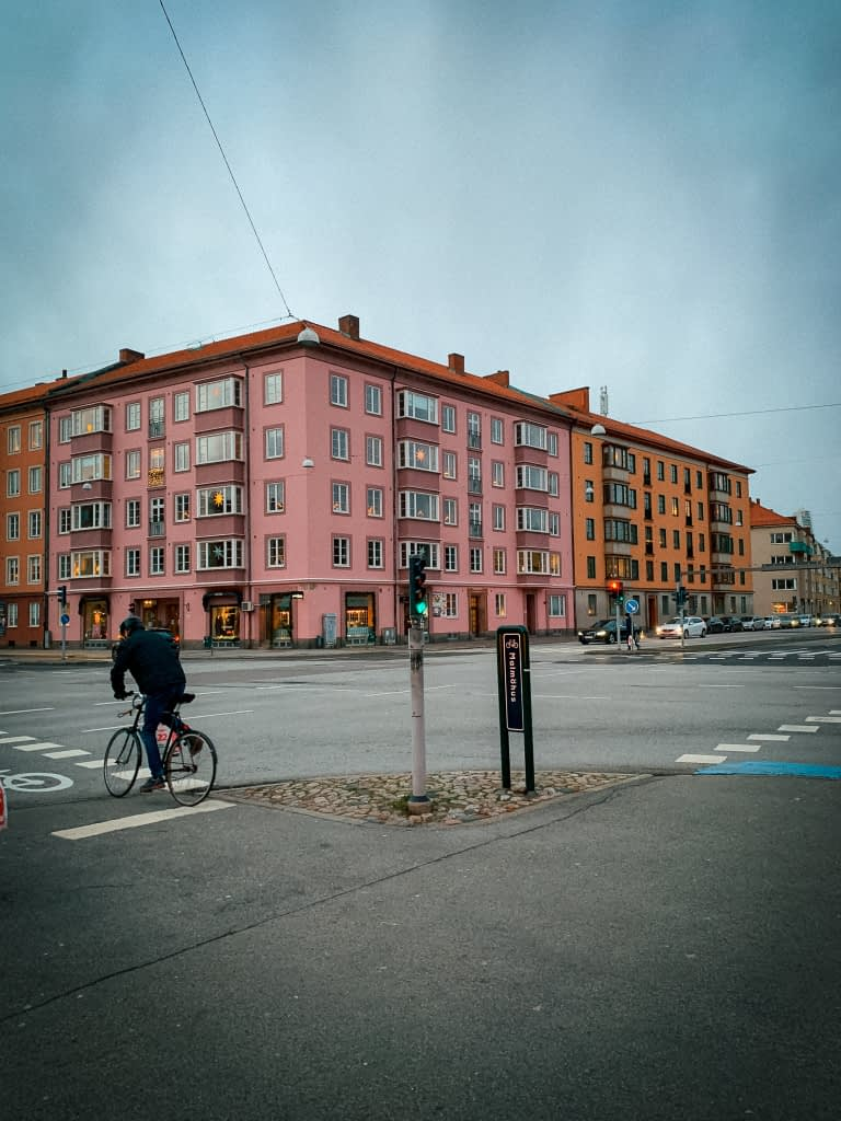 Different coloured building is malmo. - What to do in malmo