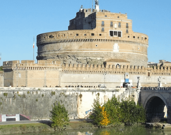 Castel Sant'Angelo part of things to do with 3 days in Rome