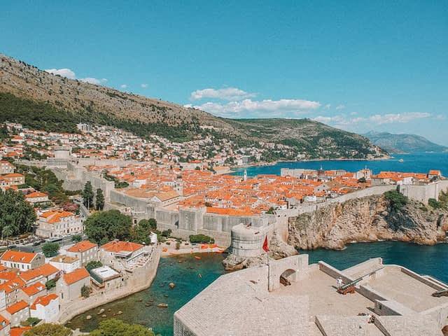 A view of Dubrovnik old town. Things to do