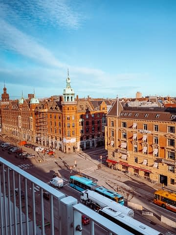 A viewpoint of Copenhagen. What to do with 3 days in Copenhagen.