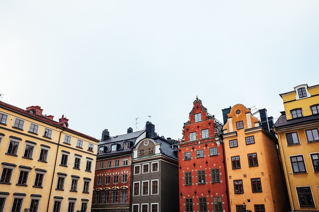 Stortorget square - a day in malmo